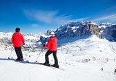Ski Resort Area — Stock Photo