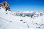 Ski Resort in Dolomites — Stock Photo
