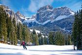 Pista de esquí — Foto de Stock