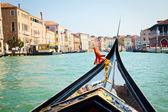 在威尼斯贡多拉之旅 — 图库照片