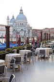 Street cafe in Venice — Stock Photo