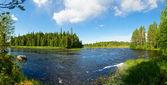 Rychlá řeka — Stock fotografie