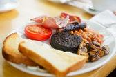 Compleet schots ontbijt — Stockfoto
