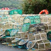 Lobster pots — Stock Photo