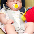 Stock Photo: Sleeping Infant