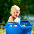Alfresco bathing — Stock Photo #14627383