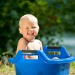 Alfresco bathing — Stock Photo #14627387