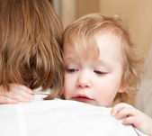 Child with mother — Stock Photo