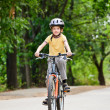 Kid on bike — Stock Photo #14827089