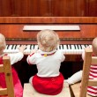 Piano lesson — Stock Photo