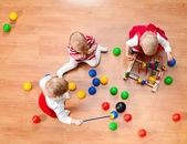 Playing toddlers — Stock Photo