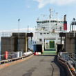 Ferry at the terminal — Stock Photo