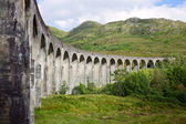 Glenfinnan Viaduct — Стоковое фото