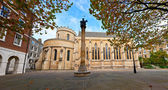 Temple Church in London — Stock Photo