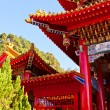 Wenwu Temple detail — Stock Photo