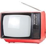 Vintage portable TV set — Stock Photo #23350644
