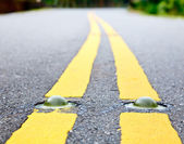 Road marking — Stock Photo