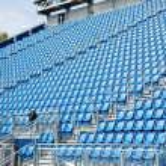 Tribun Sitze — Stockfoto