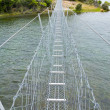 Royalty-Free Stock Photo: Suspension walking bridge