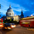 St Pauls Cathedral at dusk — Stock Photo #29839335