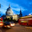 Stock Photo: St Pauls Cathedral at dusk