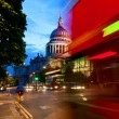 St Pauls Cathedral at dusk — Stock Photo #29839531