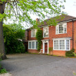 Stock Photo: English brick house
