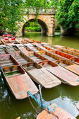 Punts in Oxford — Stock Photo