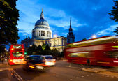 St Pauls Cathedral at dusk — Stock Photo