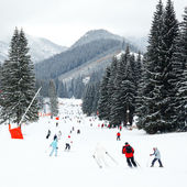 Ski resort — Stockfoto