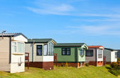 Holiday park cabins — Stock Photo