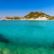 Clear turquoise water of Cala Corsara in Sardinia — Stock Photo #30753185