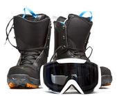 Snowboardové vybavení — Stock fotografie