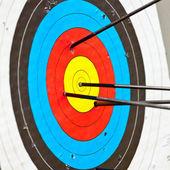 Target archery — Stock Photo
