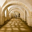 Stock Photo: Winchester Cathedral crypt