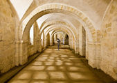 Winchester Cathedral crypt — Stock Photo