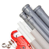 Plumbing supplies — Stock Photo