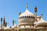Cúpulas do pavilhão real de Brighton — Fotografia Stock
