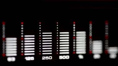 Audio spectrum analyzer — Video Stock