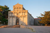 Former cathedral of San Pietro di Sorres — Stockfoto