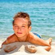 Boy on a beach — Stock Photo #41480507
