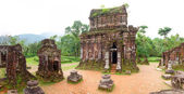 My Son Hindu temples panorama — Stock Photo