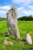 пустоты largie стоящих камней — Стоковое фото