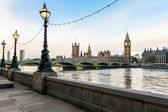 London morning cityscape — Stock Photo