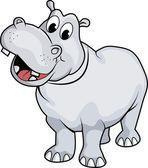 Happy Hippo — Stock Photo