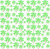 Palm trees seamless pattern. Vector illustration. EPS 10. — Stock Vector