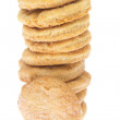 Chip cookie isolated on white background — Stock Photo #16928007