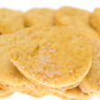 Chip cookie isolated on white background — Stock Photo #17467043