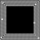 Abstract beautiful black diamond background vector illustration — Stock Vector