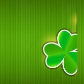 Saint Patrick`s day background vector illustration — Stock Vector